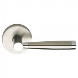 Omnia 18-00 Stainless Steel Door Levers