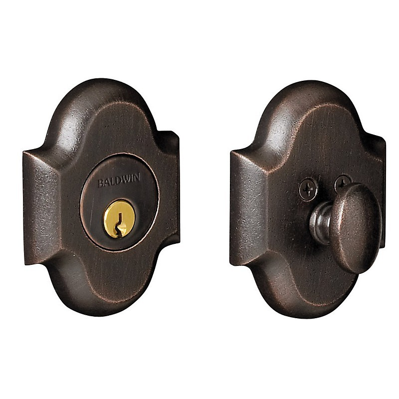 Baldwin Hardware Estate Series 8252 8253 Arched Deadbolt 2