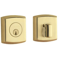 "Baldwin Hardware Estate Series 8285 / 8286 Soho Deadbolt – 2 1/8"" Door Prep"