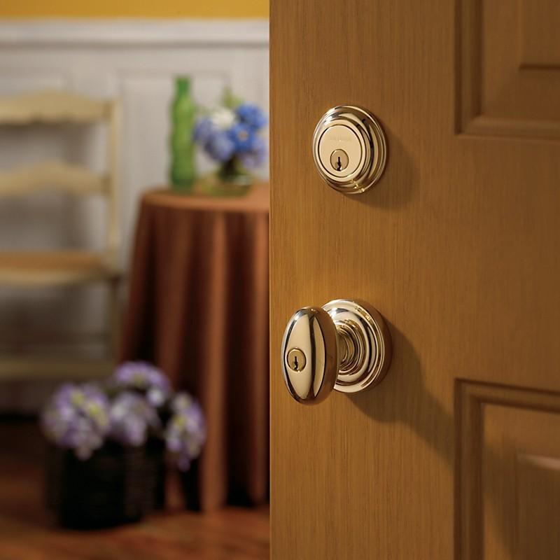 Baldwin Hardware Estate Series 5025 Egg Door Knob Set W