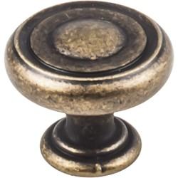 """Bremen 1-1/4"""" Diameter Button Cabinet Knob"""