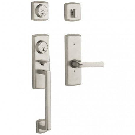 Baldwin Estate Series 85385 Soho Two Point Lock Handleset