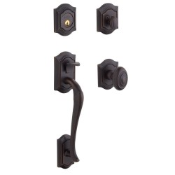 Baldwin Estate Series 85327 Bethpage Handleset w/ 5077 Bethpage Knob or 5447V Bethpage Lever