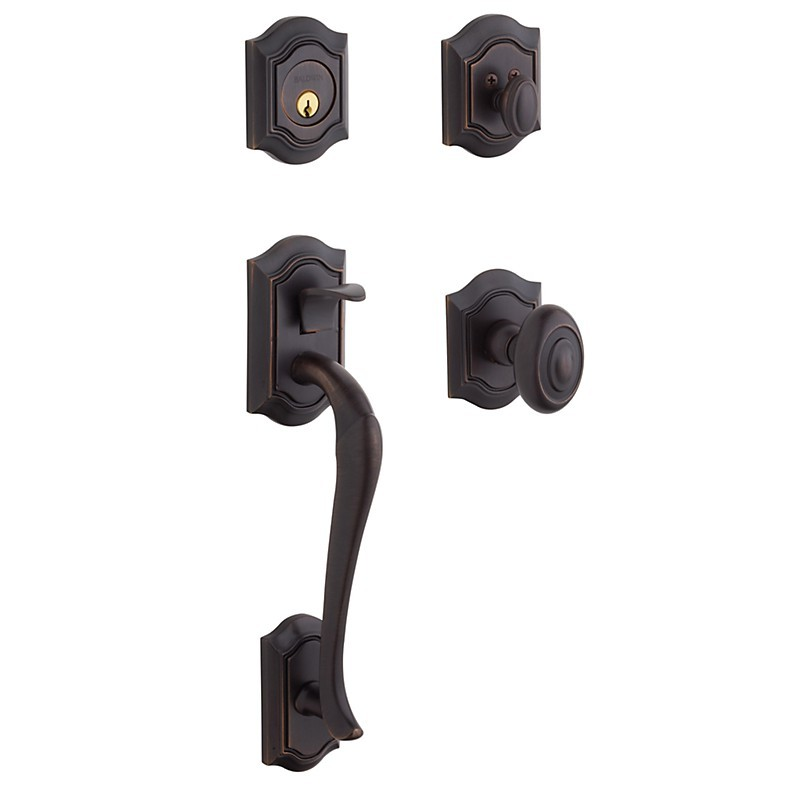 Baldwin Estate Series 85327 Bethpage Handleset W 5077