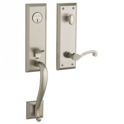 Baldwin Hardware Estate Series 85355 Stonegate Emergency Egress Handleset w/ 5445V Classic Lever