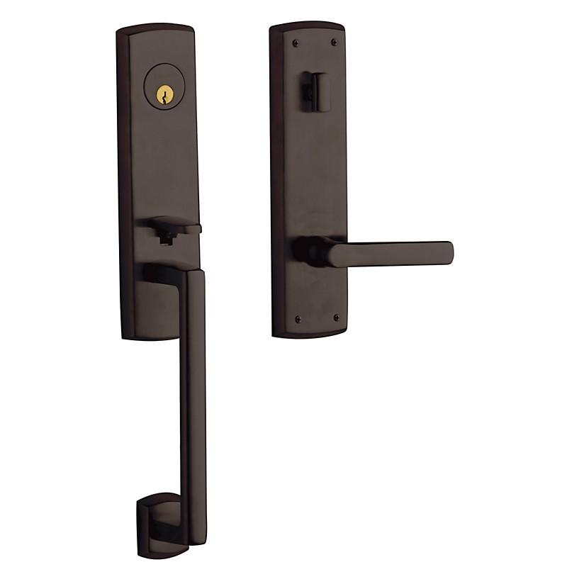 Baldwin Hardware Estate Series 85387 Soho 3 4 Escutcheon Handleset Emergency Egress W 5485v Lever