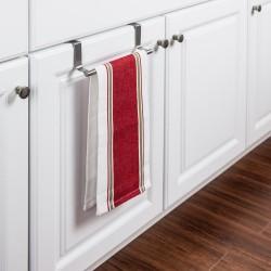 Hardware Resources Stainless Steel Over-the-Door Towel Bar