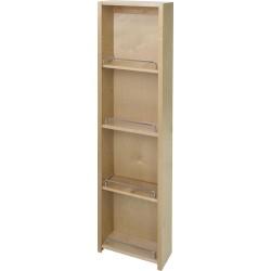 "Hardware Resources Pantry Door Mount Cabinet Organizer 12"" X 45"""