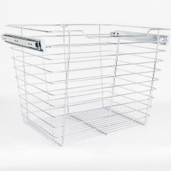 """Hardware Resources Closet Pullout Basket 14"""" D x 17"""" W x 17"""" H"""