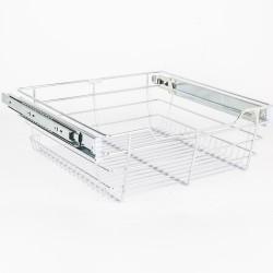 """Hardware Resources Closet Pullout Basket 14"""" D x 17"""" W x 6"""" H"""