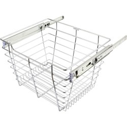 """Hardware Resources Closet Pull Out Basket 14""""DX23""""WX6""""H"""