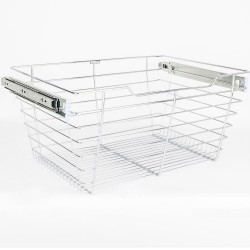 """Hardware Resources Closet Pull Out Basket 14""""DX29""""WX11""""H"""