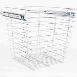 """Hardware Resources Closet Pullout Basket 16"""" D x 17"""" W x 17"""" H"""