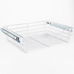 """Hardware Resources Closet Pullout Basket 16"""" D x 23"""" W x 6"""" H"""