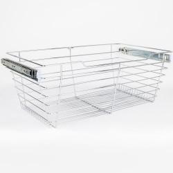 """Hardware Resources Closet Pullout Basket 16"""" D x 29"""" W x 11"""" H"""