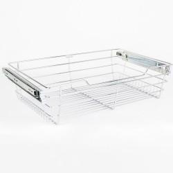 """Hardware Resources Closet Pullout Basket 16"""" D x 29"""" W x 6"""" H"""