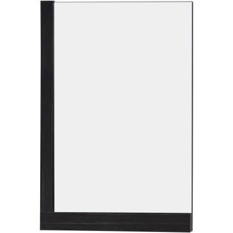 American Imaginations AI-606 23.5-in. W x 35.5-in. H Modern Plywood-Melamine Wood Mirror In Dawn Grey