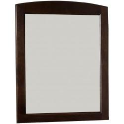 American Imaginations AI-1141 24-in. W x 31-in. H Traditional Birch Wood-Veneer Wood Mirror In Walnut