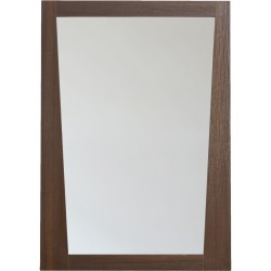 American Imaginations AI-1208 23.5-in. W x 33.5-in. H Modern Plywood-Melamine Wood Mirror In Wenge