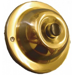 Trine JRP Polished Solid Brass w/ Black Center