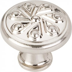 "Elements 323 Series Luxe 1-3/16"" Diameter Zinc Die Cast Teardrop Cabinet Knob"
