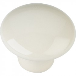 "Elements 33854 Series Tempo 1 3/8"" Diameter Ceramic Cabinet Knob"
