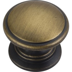 "Jeffrey Alexander 3980 Series Durham 1 1/4"" Diameter Cabinet Knob with One 8 32 x 1"" Screw"
