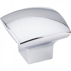 "Jeffrey Alexander 431 Series Sonoma 1-3/16"" Overall Length Zinc Diecast Cabinet Knob"