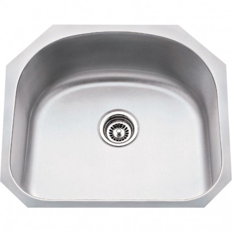 """Hardware Resources 861 Series Stainless Steel (18 Gauge) Large Utility Sink (23 1/4"""" x 20 7/8"""" x 9"""")"""