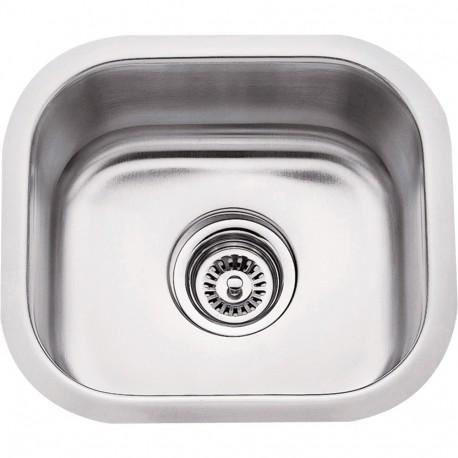 Hardware Resources 869 Series Stainless Steel (18 Gauge) Bar Sink