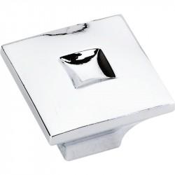 "Jeffrey Alexander 910 Series Modena 1 3/16"" Diameter Zinc Die Cast Modern Cabinet Knob"