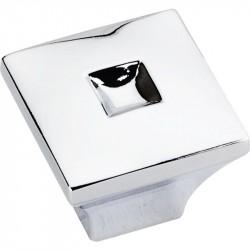 "Jeffrey Alexander 910S Modena 1"" Diameter Zinc Die Cast Small Modern Cabinet Knob"
