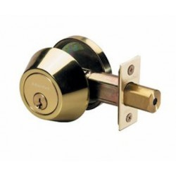 Master Lock Single Cylinder Grade 3 Deadbolt PB