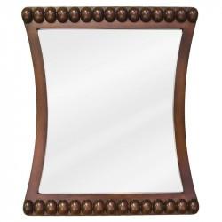 "Jeffrey Alexander MIR035 Rosewood Beaded Mirror 24"" x 1-3/4"" x 28"""