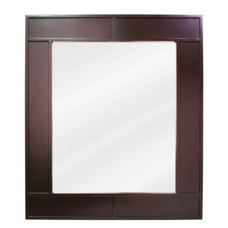 """Jeffrey Alexander MIR042 Manhattan Espresso Mirror 26"""" x 1-1/4"""" x 3"""