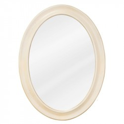 "Elements MIR061 Clairemont Buttercream Bath Elements Mirror 23-3/4"" x 1"" x 31-1/2"""
