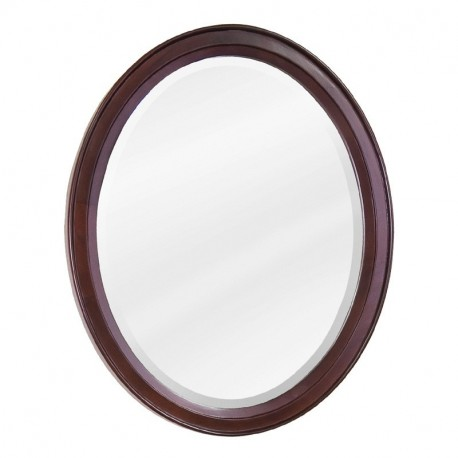 Mahogany Modern Jeffrey Alexander MIR067 Mirror