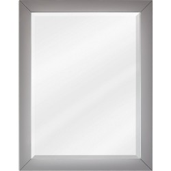Cade Contempo Jeffrey Alexander MIR100 Grey Mirror with Beveled Glass