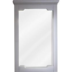 Chatham Shaker Jeffrey Alexander MIR102 Grey Mirror with Beveled Glass