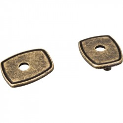 "Jeffrey Alexander PE07 Escutcheons PE07 Pull Escutcheon for 3"" to 96mm Cabinet Pull Transition"