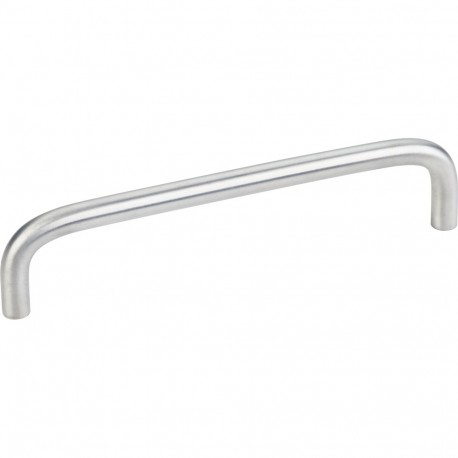 """Elements S271-128 Torino 5 3/8"""" Overall Length Steel Wire Cabinet Pull"""