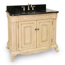 "Jeffrey Alexander VAN011 Antique Ornate 39"" Vanity"