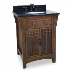 Jeffrey Alexander VAN037 Westcott Wright Solid Wood Vanity