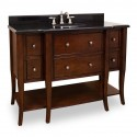 "Jeffrey Alexander VAN080 Philadelphia Classic Vanity with Edge Details (for 48"" Top)"
