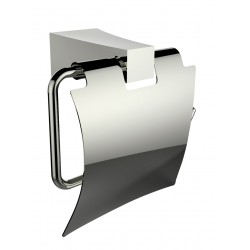American Imagination AI-13325 Chrome Plated Towel Ring With Toilet Paper Holder Accessory Set:divider_comma:Rectangle