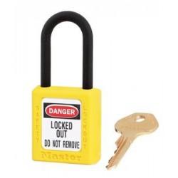Master Lock 406 Zenex OSHA Safety Lockout Plastic Shackle Padlock