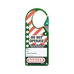 Master Lock 427GRN Labeled Snap-on OSHA Safety Lockout Hasp (Green)