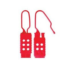 Master Lock 428 Plastic Non-Conductive OSHA Safety Lockout Hasp