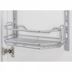 "Hardware Resources 6"" Deep Individual Tray Replacement or Additional Tray for Door Mounting Tray System"