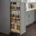 Hardware Resources PPO2 Wood Pantry Cabinet Pullout